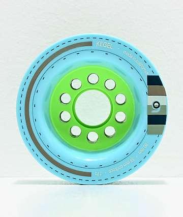 Orangatang Kegel 80mm 77a Blue Longboard Wheels