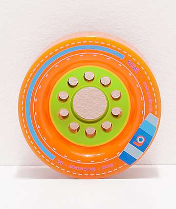 Orangatang Kegel 80mm 80a Orange Longboard Wheels