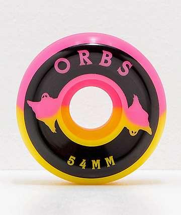 Orbs Wheels Specters Split 54mm 99a Skateboard Wheels