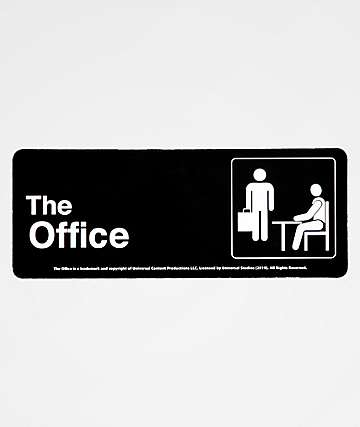 PSD x The Office Bathroom Sign Sticker