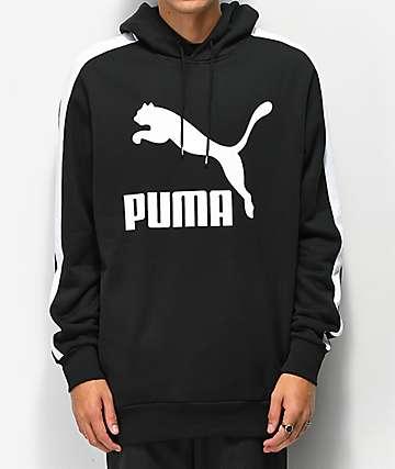 PUMA Classic Logo Black Hoodie