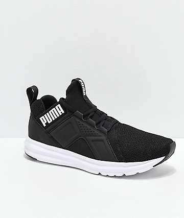 PUMA Enzo Black & White Shoes
