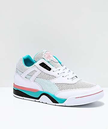 PUMA Palace Guard OG White & Geranium Shoes