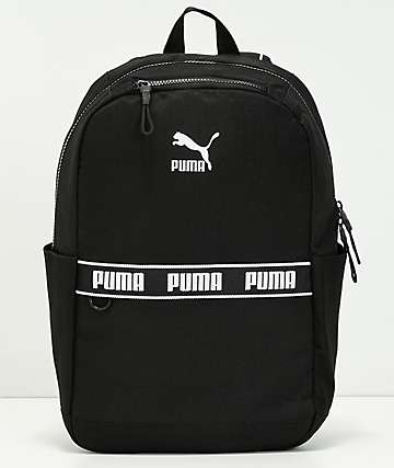 PUMA The Linear Black Backpack