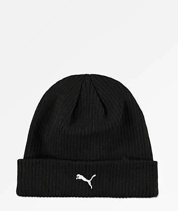 PUMA Topic Black Beanie