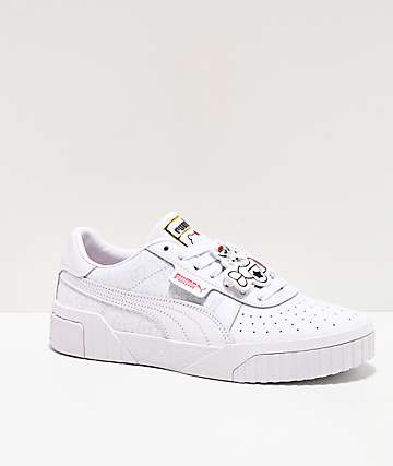 PUMA x Hello Kitty California White & Red Shoes