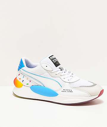 PUMA x Tetris RS 9.8 White Shoes