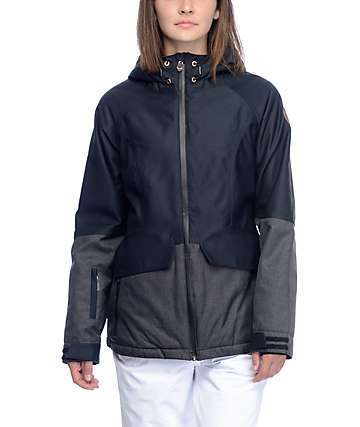 PWDR Room Bethany Caviar Softshell Snowboard Jacket