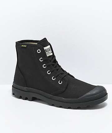 Palladium Pampa Hi Originale All Black Boots