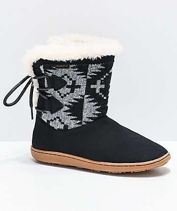 Pendleton Women's Lampara Spider Rock & Black Boots