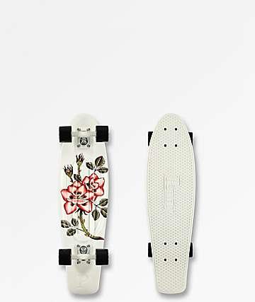 "Penny Nickel Rosebud 27"" Cruiser Complete Skateboard"