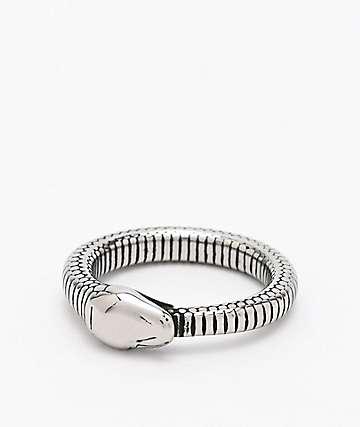 Personal Fears Snake Ouroboros anillo de acero inoxidable