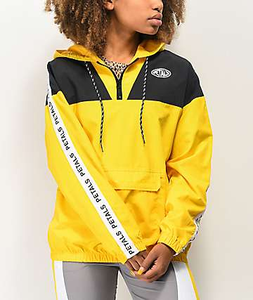 Petals by Petals and Peacocks Yellow Anorak Jacket