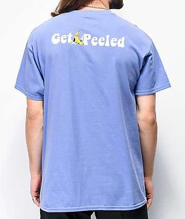 Petty Snacks Get Peeled camiseta lavanda