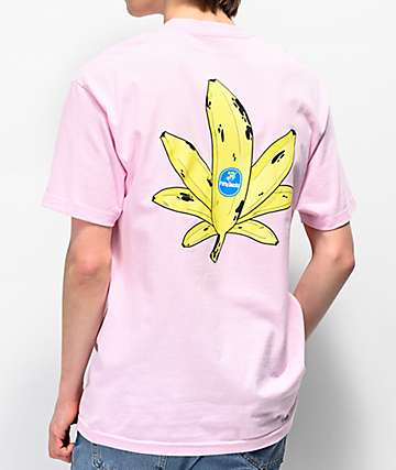 Petty Snacks Sweet Leaf Pink T-Shirt