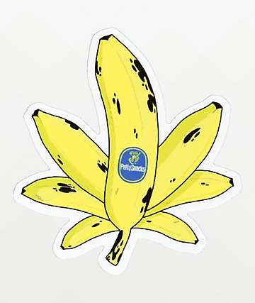 Petty Snacks Sweet Leaf pegatina