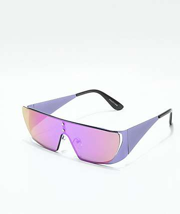Phaze Purple Shield Sunglasses