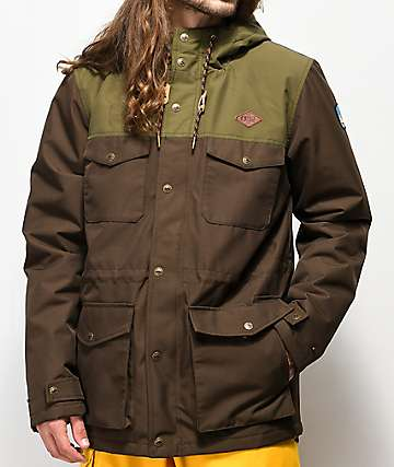 Picture Organic Jack Brown 10K Snowboard Jacket