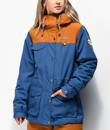 Picture Organic Kate Blue 10K Snowboard Jacket