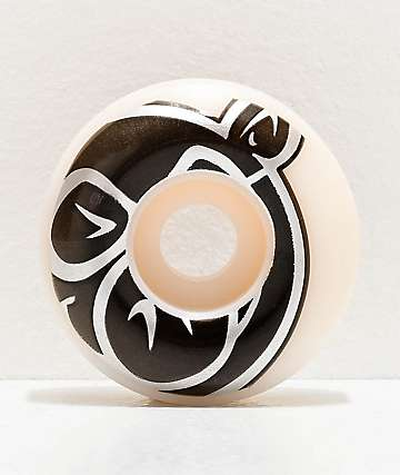 Pig Prime 53mm 103a White Skateboard Wheels