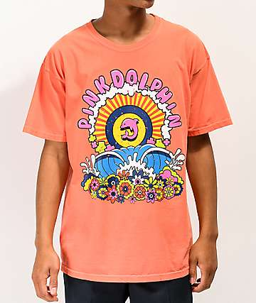 Pink Dolphin Shangri-La Orange T-Shirt