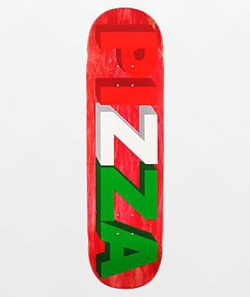 "Pizza 3D Logo 8.5"" Skateboard Deck"