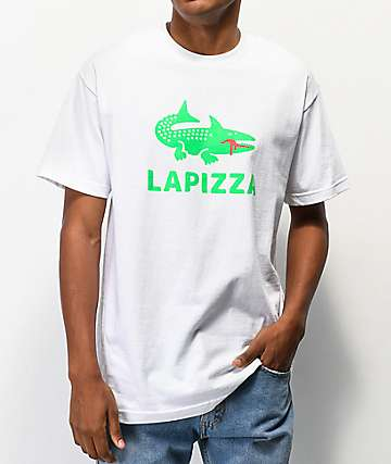 Pizza Lapizza White T-Shirt