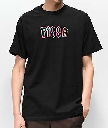 Pizza School Black T-Shirt