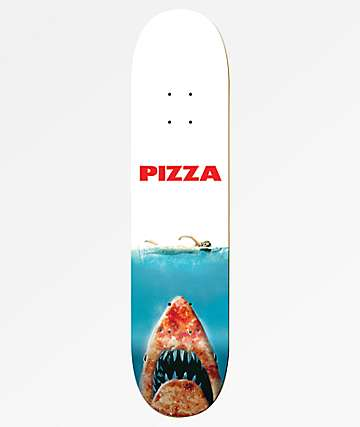 "Pizza Shark 8.25"" Skateboard Deck"