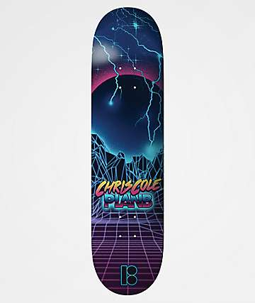 "Plan B Cole Lowlands 8.2"" Skateboard Deck"