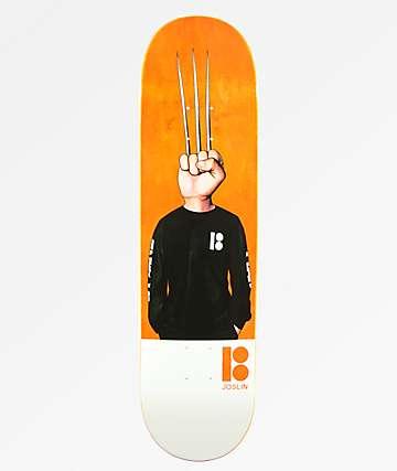 "Plan B Joslin Knucklehead 8.12"" Skateboard Deck"