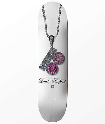 "Plan B Leticia Bufoni Signature 8.0"" Skateboard Deck"