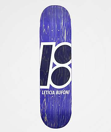 """Plan B Leticia Stained 7.75"""" Skateboard Deck"""