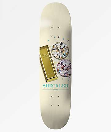 "Plan B Sheckler Bling 7.75"" Skateboard Deck"