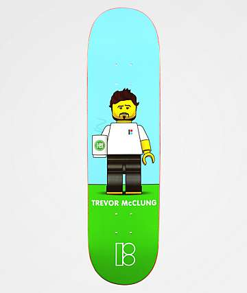 "Plan B Trevor Blockhead 8.1"" Skateboard Deck"