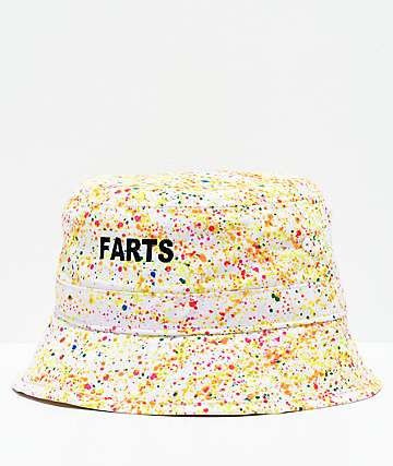 Porous Walker Farts Neon Splatter Bucket Hat