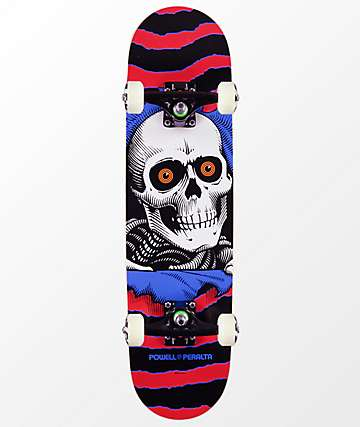 """Powell Ripper One Off 7.5"""" Skateboard Complete"""