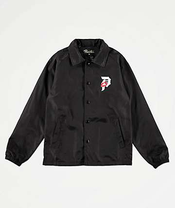 Primitive Boys Dirty P Lover Black Coaches Jacket
