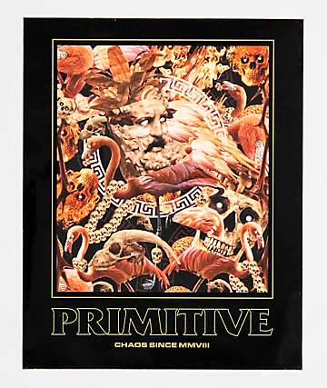 Primitive Chaos Sticker