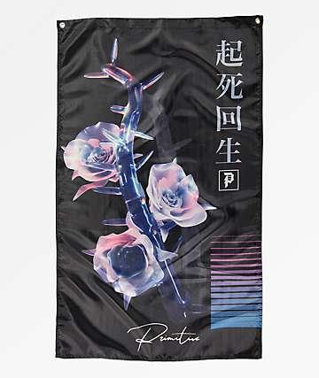 Primitive Creation bandera negra