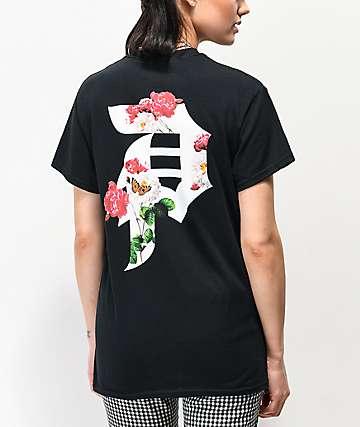 Primitive Dirty P Garden camiseta negra