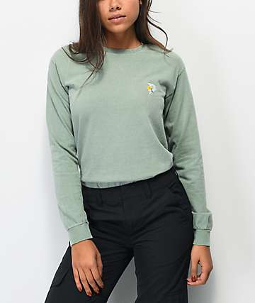 Primitive Dirty P Sunflower Spruce Long Sleeve T-Shirt