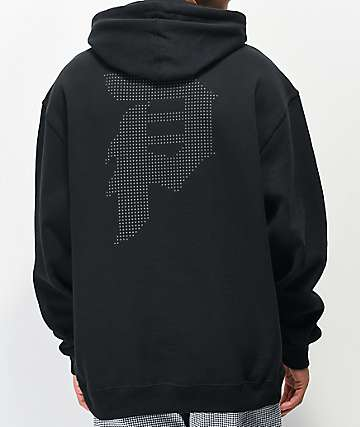 Primitive Dot Matrix Black Hoodie