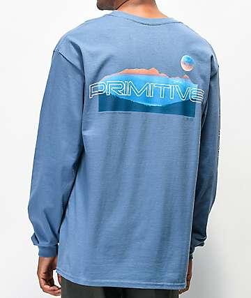 Primitive Dusk Slate Long Sleeve T-Shirt