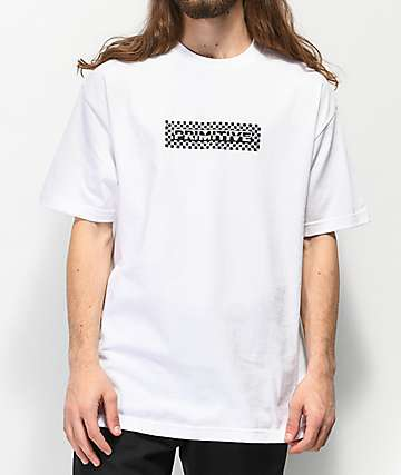 Primitive Finish Line Holographic White T-Shirt