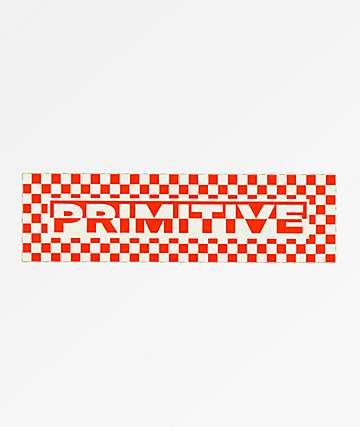 Primitive Finish Line Sticker