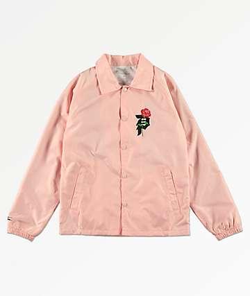 Primitive Heart Breaker chaqueta entrenador rosa para niños