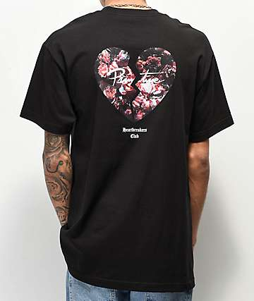 Primitive Heartbreakers Broken Heart Black T-Shirt