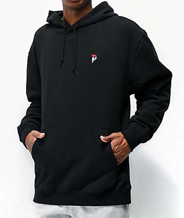 Primitive Mini Dirty P Emblem Black Hoodie