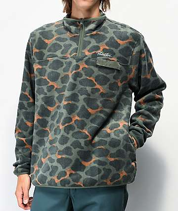 Primitive Montreal Camo Tech Fleece Jacket